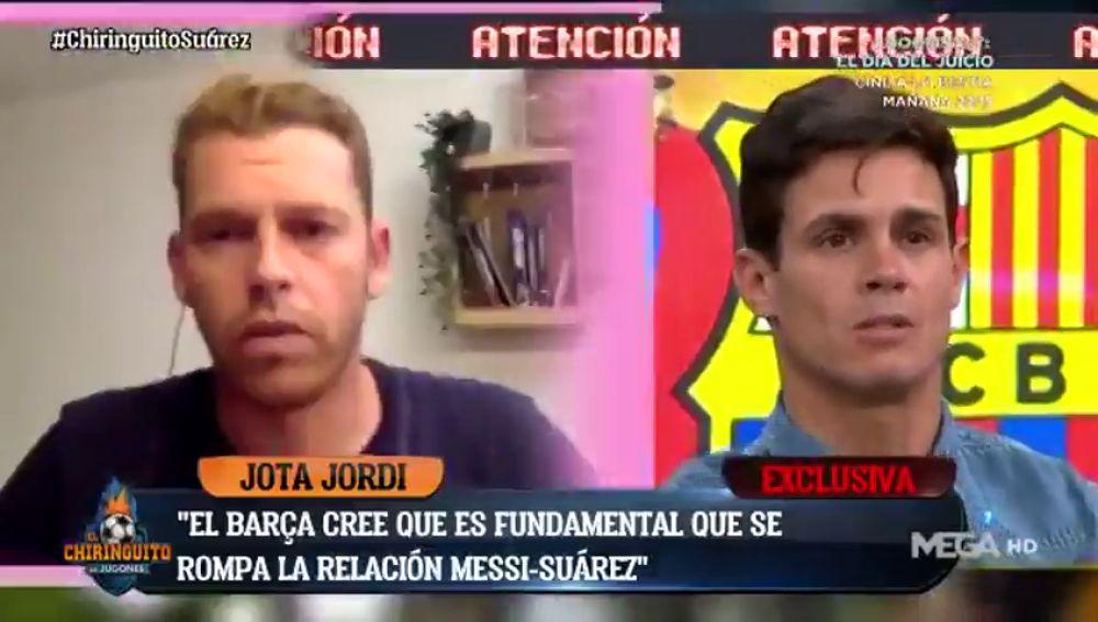 """Exclusiva de Jota Jordi: """"El Barça cree que es básico romper la relación Messi-Suárez"""""""