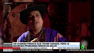 La predicción de un chamán sobre el futuro poco halagüeño de Trump