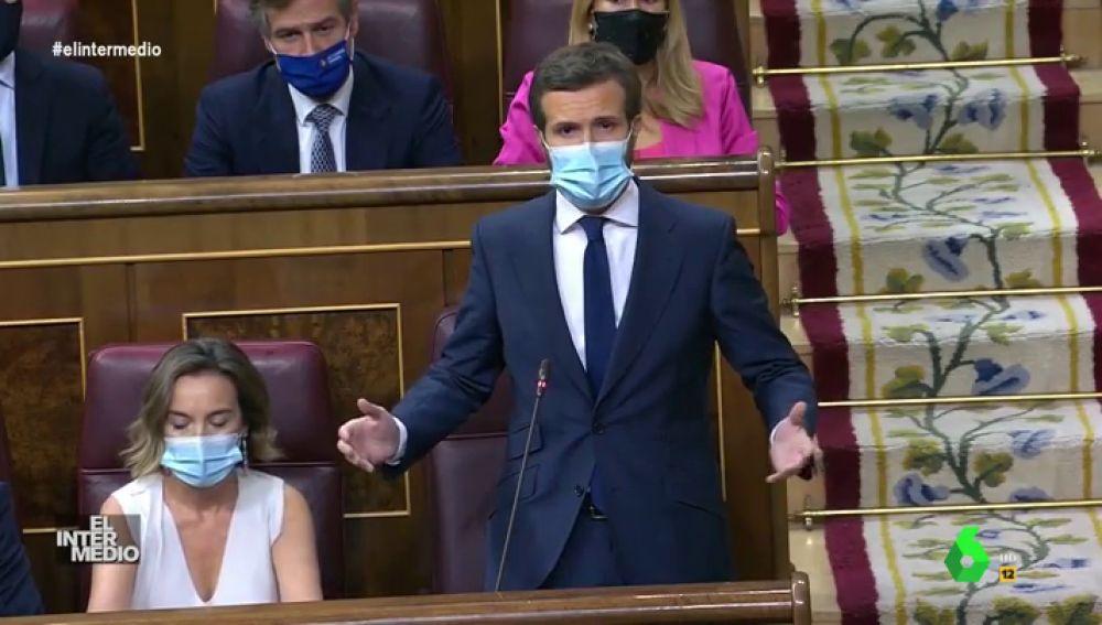 Vídeo manipulado - Pablo Casado y Teodoro García Egea se convierten en el Congreso en 'Los payasos de la tele'