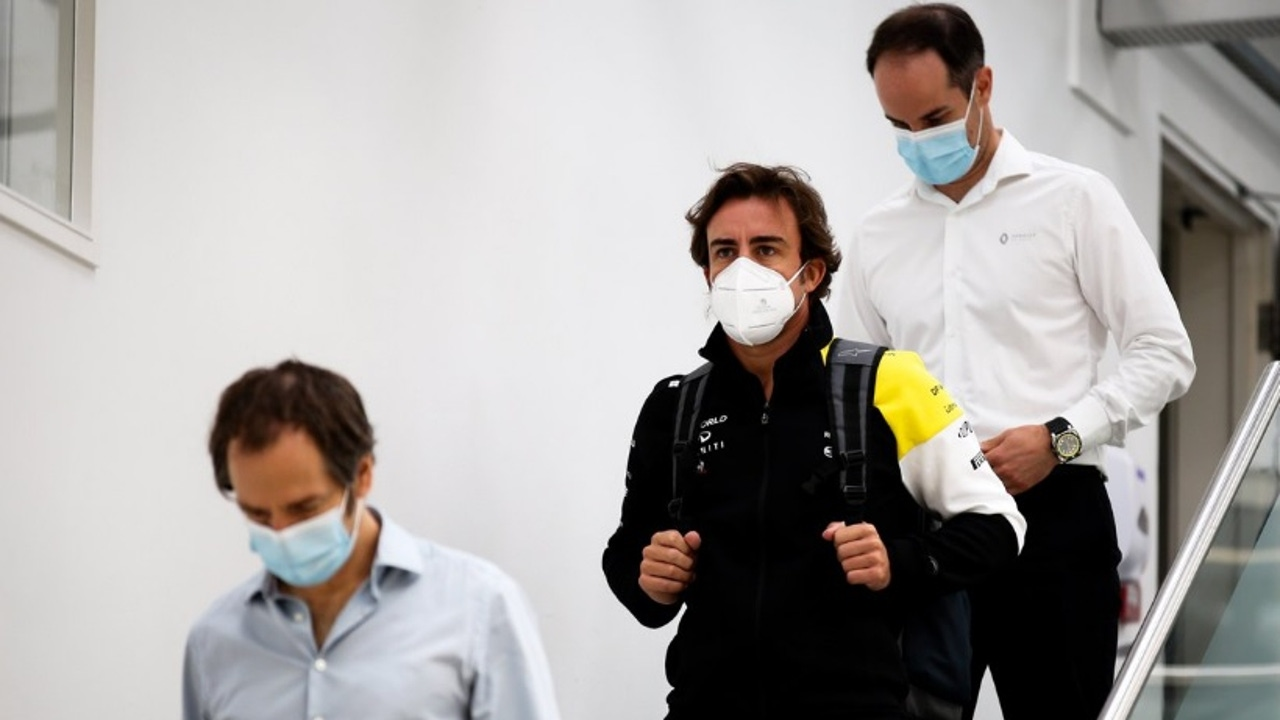 Fernando Alonso en Enstone