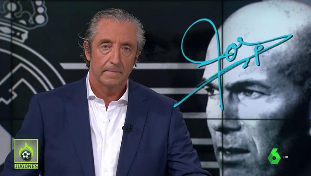 """Josep Pedrerol: """"Es mejor no enfadar a Zidane... que es capaz de dar otra espantada"""""""