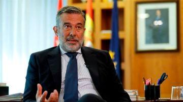 El consejero madrileño de Justicia, Enrique López.