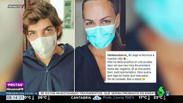 Kike, el hijo de Bertín Osborne y Fabiola Martínez, positivo en coronavirus