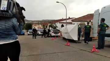 El presunto asesino de Manuela Chavero vuelve a la escena del crimen para reconstruir los hechos
