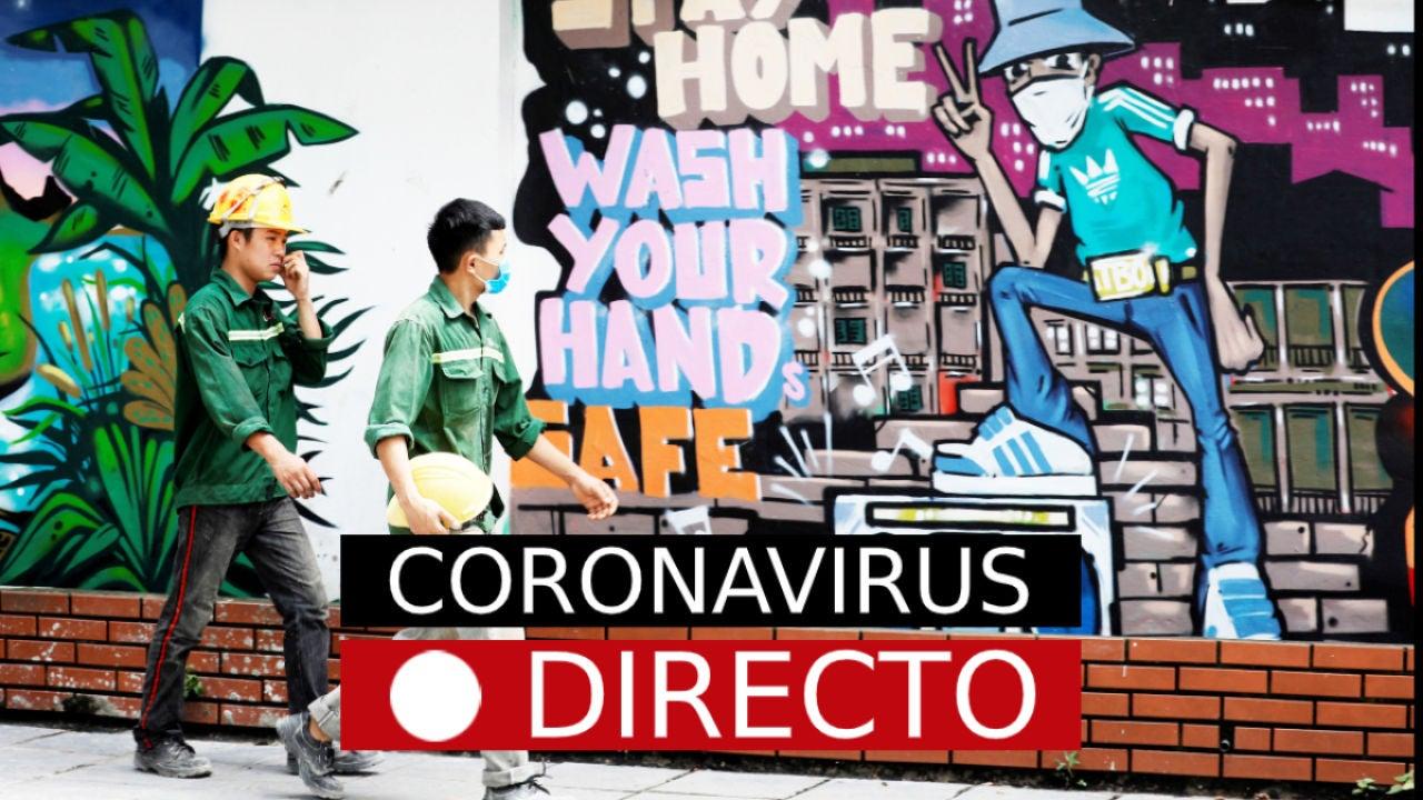 Coronavirus España Noticias de hoy datos casos y noticias de la vacuna del COVID-19 en directo