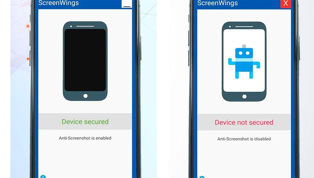 Activando y desactivando las capturas de pantalla