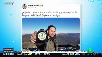 La fotografía de Santiago Abascal de 2017 que se ha convertido en carne de memes