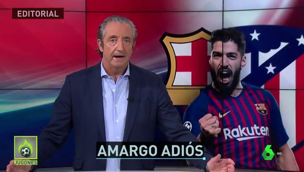 "Josep Pedrerol: ""Suárez no se va, a Suárez le empujan a marcharse"""
