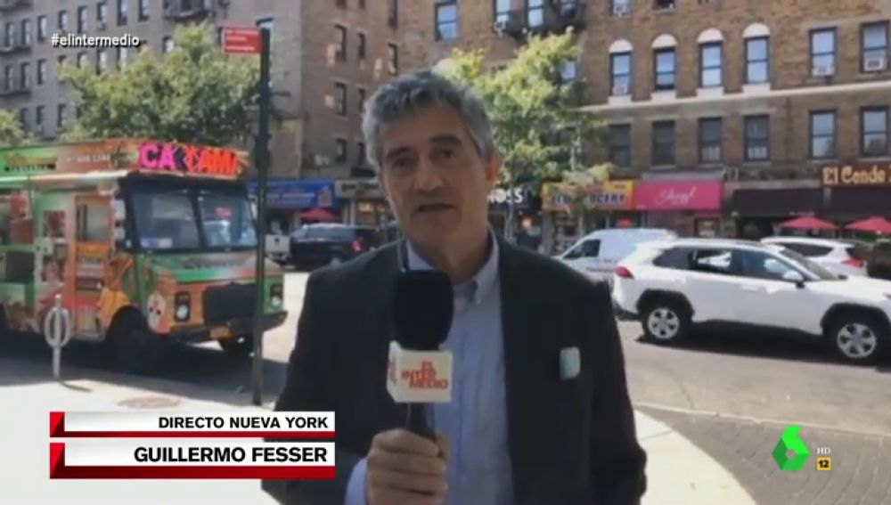 El periodista Guillermo Fesser, corresponsal en Nueva York.