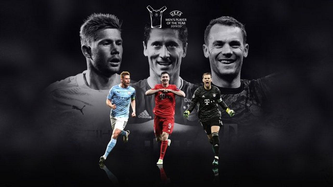 De Bruyne, Lewandowski y Neuer