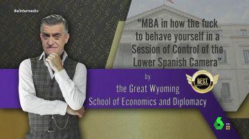 """La llamada de atención de Wyoming a los políticos: """"Aprovechan las sesiones de control para acaparar el foco mediático"""""""
