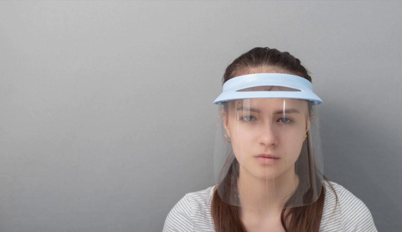 Por qué la pantalla facial no protege contra la COVID-19