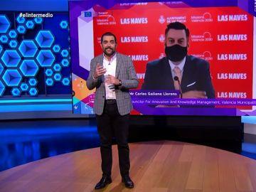 Dani Mateo habla en El Intermedio sobre el edil valenciano que ha hecho playback en la Comisión Europea