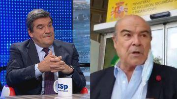 El ministro Escrivá y Antonio Resines