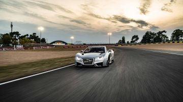 El Carmen pudo soltarse a lo largo del circuito de Le Mans