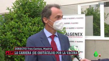 Pedro Duque afirma que España tendrá un millón y medio de vacunas contra el COVID-19 en diciembre