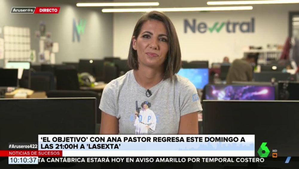 """Ana Pastor confiesa cómo es su relación con los políticos tras las cámaras: """"Hay mucha tensión y mucha distancia"""""""