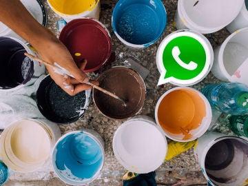 Pintura y WhatsApp