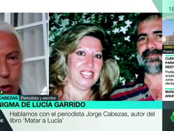 Jorge Cabezas, periodista y autor del libro 'Matar a Lucía'.