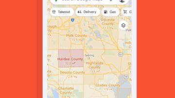 Google enseña su última actualización, que permite seguir la evolución de la COVID-19 por zonas