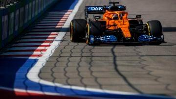 Carlos Sainz logró el cuarto mejor tiempo