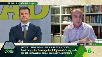 """Miguel Sebastián pide medidas """"duras y contundentes"""" en Madrid: """"Ha tenido en septiembre los mismos casos que todo Reino Unido"""""""