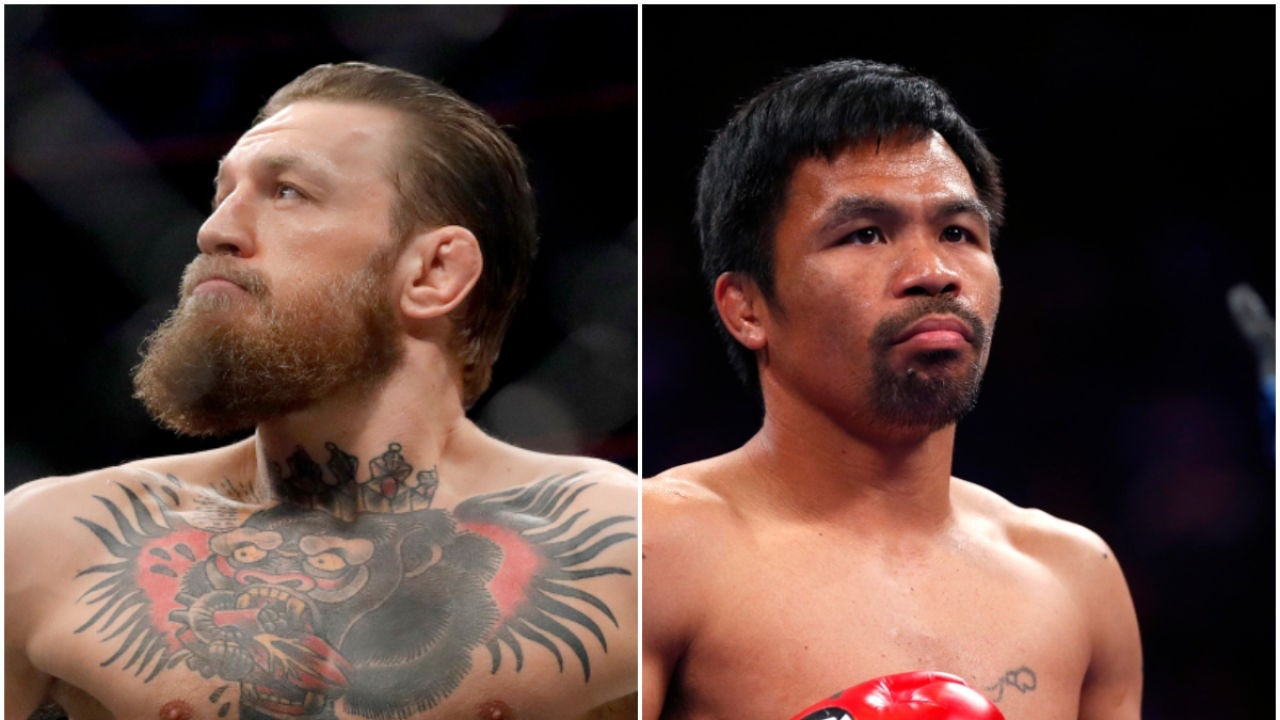 McGregor contra Pacquiao