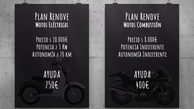 Plan Renove 2020 para motos