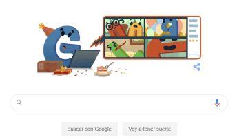 Google celebra su 22º cumpleaños