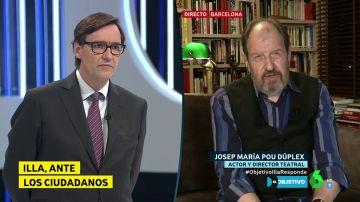 """La reflexión de Josep María Pou que Salvador Illa se toma """"como un estímulo para mejorar las cosas"""""""