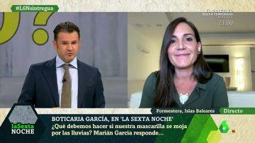Mascarillas y lluvia: Boticaria García explica qué debes hacer si se te moja