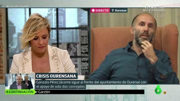 """Pérez Jácome, alcalde de Ourense: """"Estamos ante una trama para derribarme y relevarme en en la Alcaldía"""""""