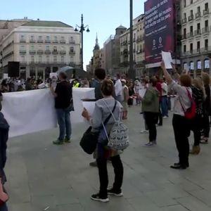 """Nueva jornada de protestas en Madrid: rechazan las medidas """"segregadoras"""" de Ayuso y piden más inversión en Sanidad"""