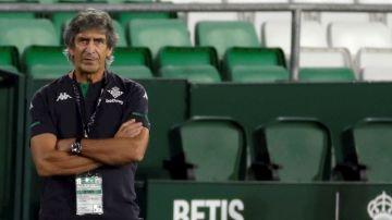 Pellegrini, con el Betis