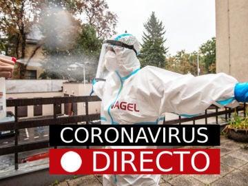 Coronavirus España hoy: Última hora, casos, noticias sobre la vacuna y datos del COVID-19, en directo