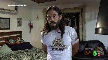 """Habla Octavio Rettig, 'el profeta del sapo': """"Hay gente que ha muerto y va a morir haciendo el ritual del sapo"""""""