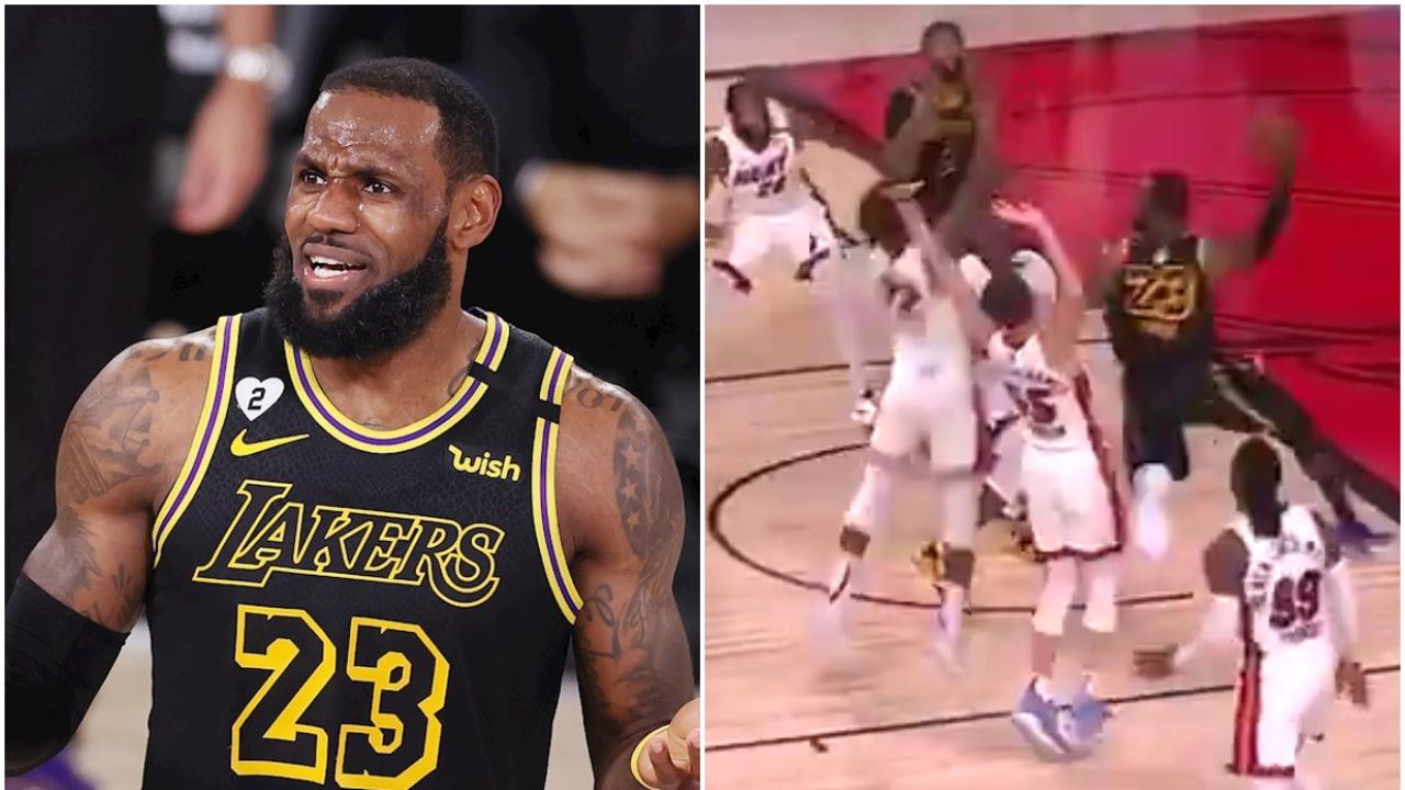 LeBron James, ante los Heat