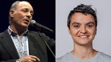 José Manuel Soto y Lucía Martin