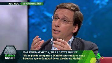 """Martínez-Almeida: """"No es discutible que las medidas de la Comunidad de Madrid están funcionando"""""""