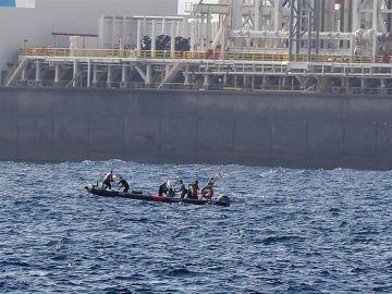 Rescate del cuerpo de una submarinista en Gran Canaria