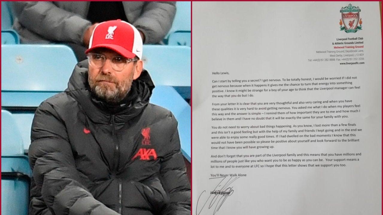 Jurgen Klopp y su carta a un niño de 11 años