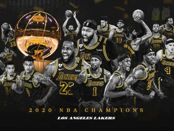 Los Angeles Lakers, campeones de la NBA