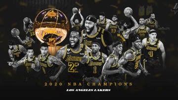 Los Angeles Lakers, campeones de la NBA