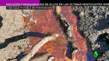 Sin agua potable en Pontedeume por la turbidez del río Eume