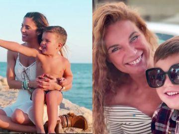 Las tiernas fotografías de Axel, el hijo de Tatiana Arús, junto a su madre y su abuela, Angie Cárdenas