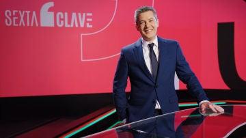 Rodrigo Blázquez, presentador de laSexta Clave: el otro informativo de laSexta