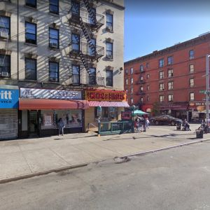 Imagen de una de las calles de Mott Haven, al sur del Bronx