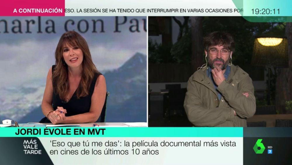 Mamen Mendizábal y Jordi Évole en MVT