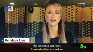 El sorprendente vídeo de Penélope Cruz de rubia junto a Alejandro Sanz: así animan a que la gente vote en las elecciones de EEUU