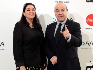 El actor Antonio Resines y su pareja Ana Pérez